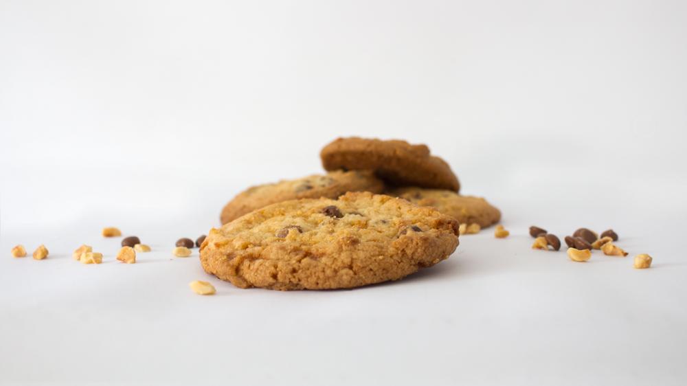 Photo de cookies en premier plan