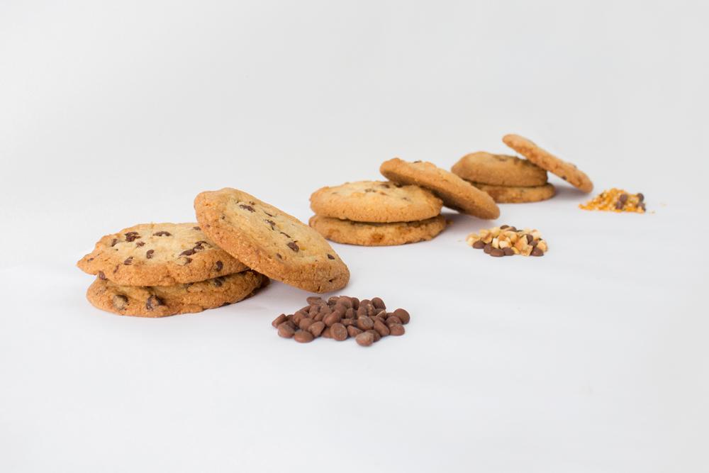 Photo de cookies de 3 sortes différentes