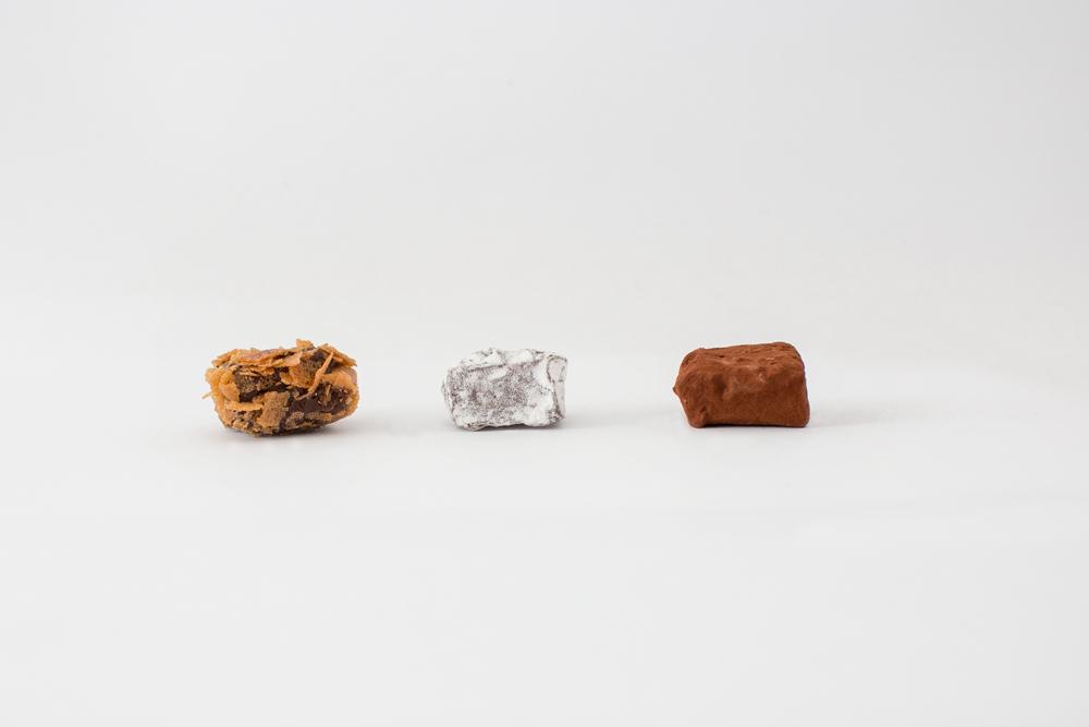 Photo d'ambiance avec 3 truffes