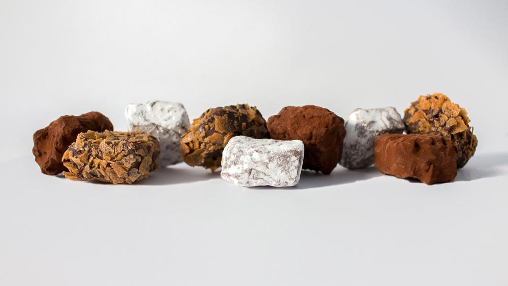 Photo d'ambiance avec des truffes