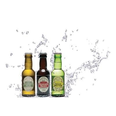 Packshot Bouteille cocktail : V and B